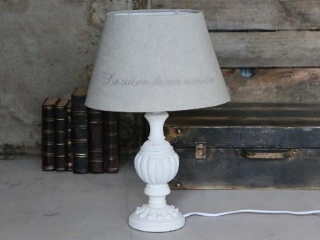 "Chic Antique Bordlampe ""Fransk"""