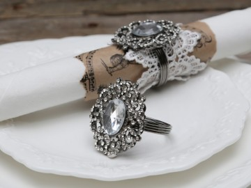 "Chic Antique "" Serviett Ring """