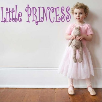 "La Finesse Wallstickers "" Little Princess """