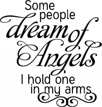 "La Finesse Wallstickers "" Angels """
